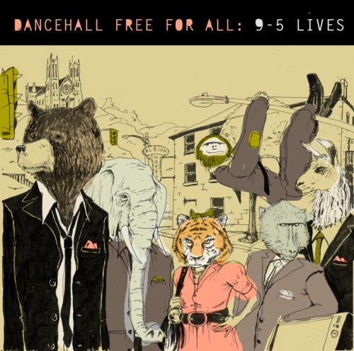 Dancehall Free For All 9 -5 Lives