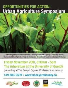 Urb Ag Symposium poster